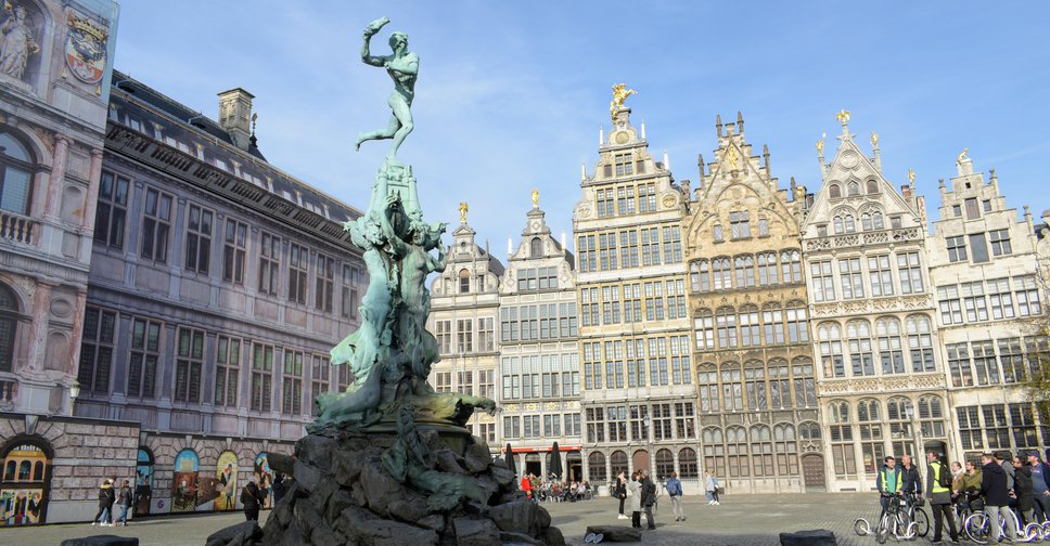 Place of the day - Brabo, Antwerpen