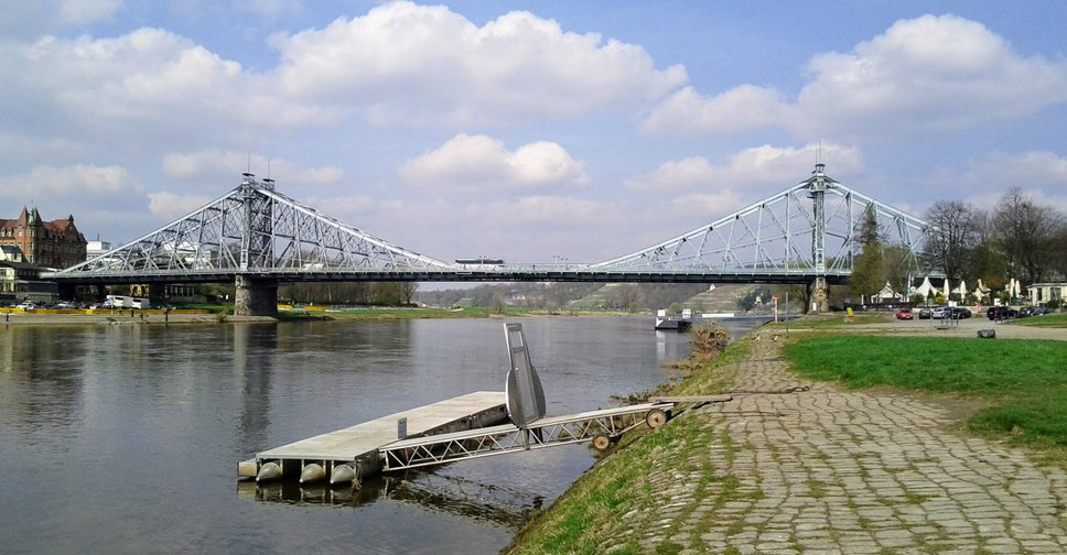 Place of the day - Loschwitzer Brücke, Dresden