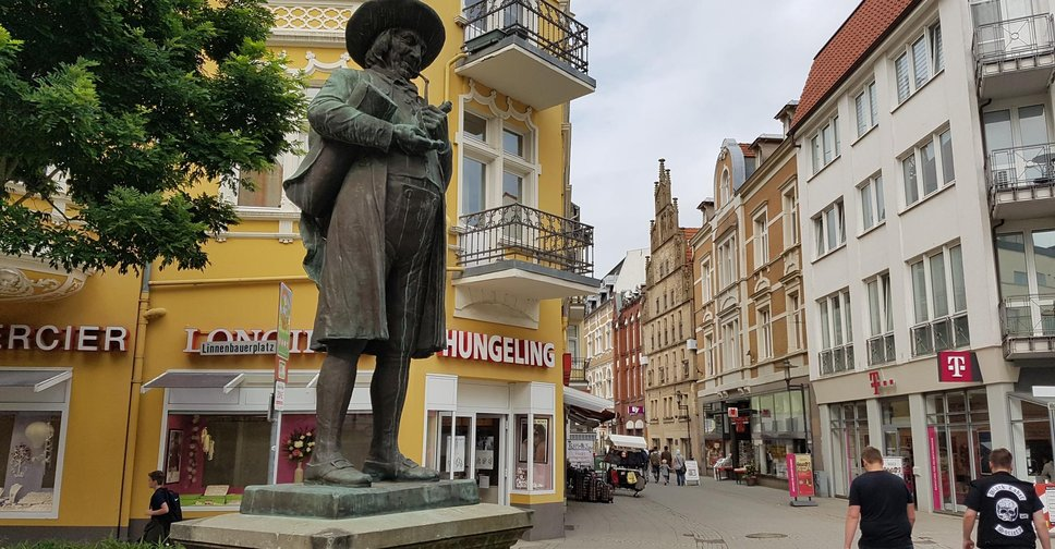Place of the day - Linnenbauer Denkmal, Herford
