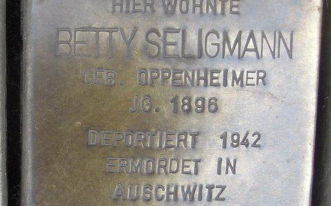 Betty Seligmann geb. Oppenheimer