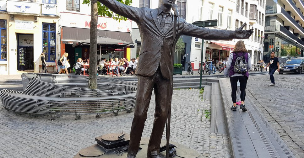 Place of the day - Jacques Brel, Bruxelles-Capitale